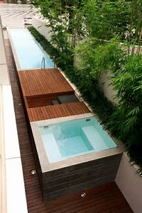 Mini Pool Terrasse : entspannende badewanne im garten genie en ~ Orissabook.com Haus und Dekorationen
