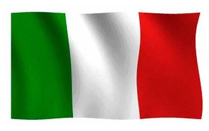 Italiana Bandiera Italy Italia Flag Italian Animate