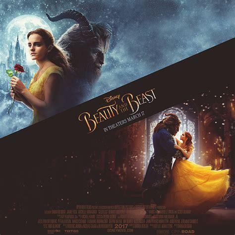 beauty   beast poster  goldposter