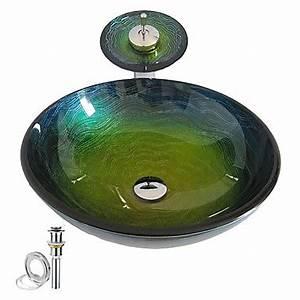 Waschbecken Glas Rund : armaturen waschbecken armaturen sets badezimmer waschbecken set eu lager glas ~ Markanthonyermac.com Haus und Dekorationen