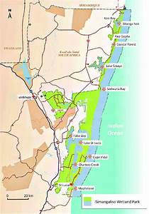 Geographical Location Of The Isimangaliso Wetland Park  Source  Adapted