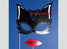 Photoprops, Catwoman, Foto Requisiten, 4 Stück