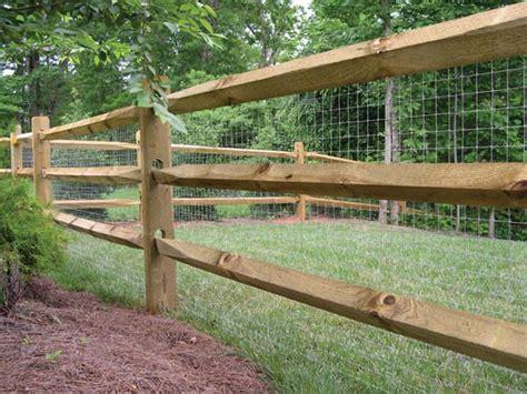 split rail fence  mesh id  wire  attractive   great chicken barrier