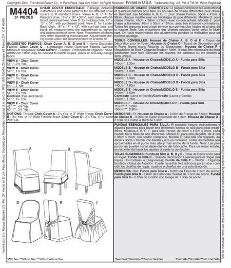 m4404 housses de chaise indispensables grandeur une seule taille fabricville