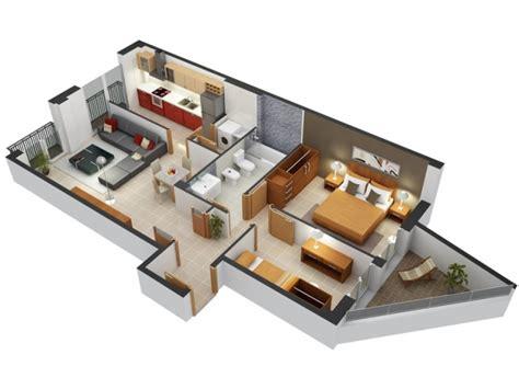50 plans 3d d 39 appartement avec 2 chambres