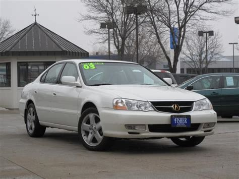 used car spotlight 2003 acura tl type s