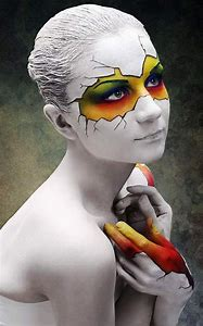 Body Painting Halloween Makeup