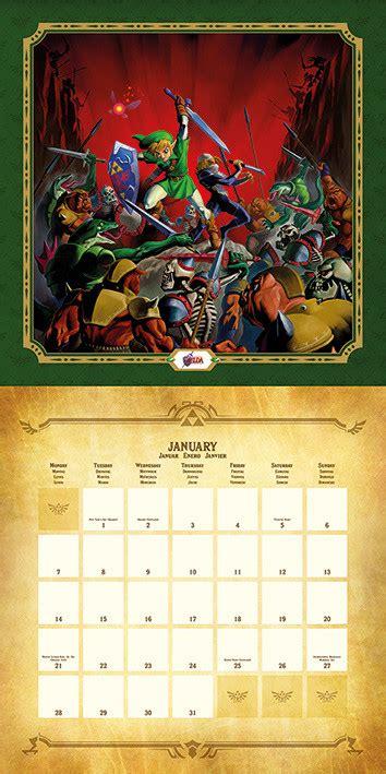legend zelda calendars ukpostersabposterscom