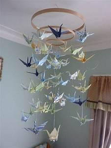 Mobile Basteln Origami : zimmer deko diy frische fr hlingsdeko aus papier basteln diy do it yourself selber ~ Orissabook.com Haus und Dekorationen