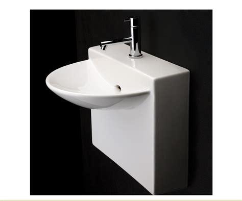 Bathroom Sink Blocked by 17 75 Quot Lacava Block Wall Mount Sink Bathroom Vanities
