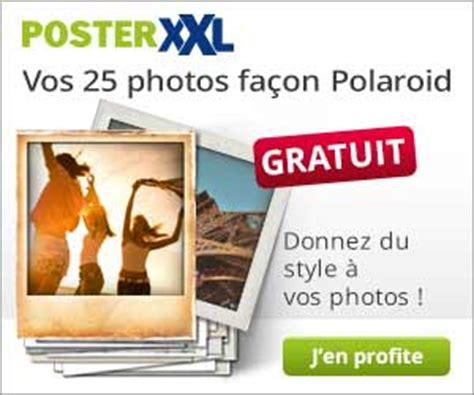 tirage photo gratuit sans frais de port posterxxl 25 tirages photo fa 231 on polaroid gratuits hors frais de port codes promo
