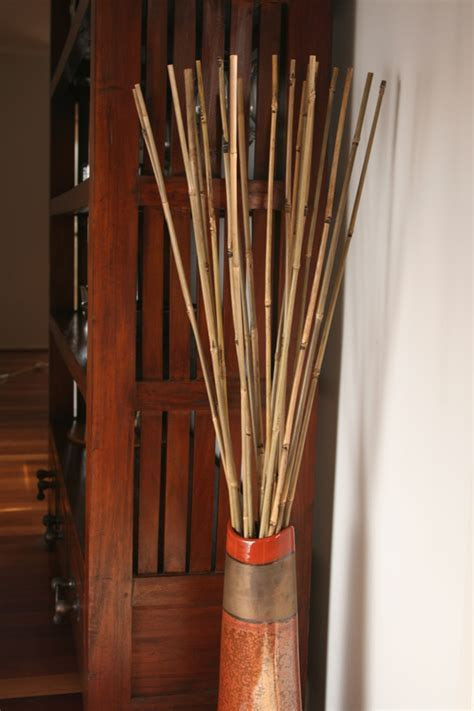 Vases Designs: decorative bamboo sticks for vases