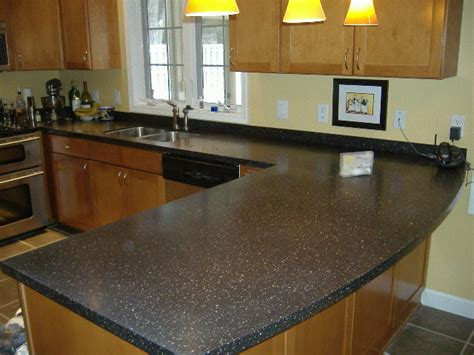 Elegant Corian Countertops With Countertop Also Granite