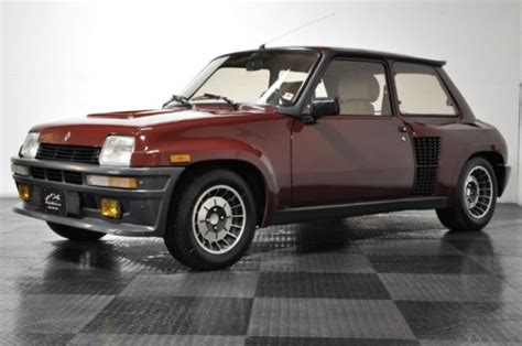 Renault 5 Turbo For Sale Usa by R T Feature Car Low Mile 1985 Renault R5 Turbo 2 Bring