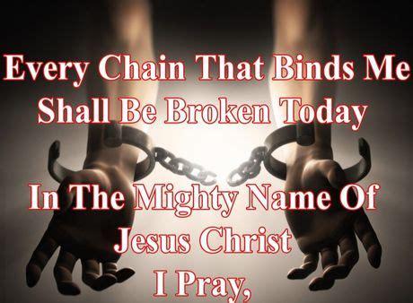 break  chain prayer ministry iron sharpening