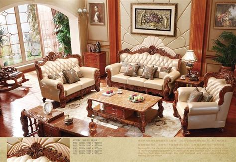 canapé turc turc brun et blanc canapé en cuir ensemble complet en bois