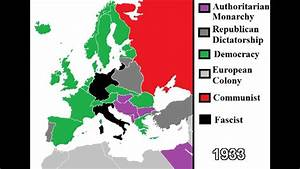 The History of Europe: Ideologies 1787 - 2013 - YouTube