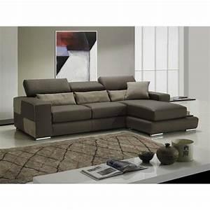 canape d39angle moderne et classique au meilleur prix With canape cuir couleur