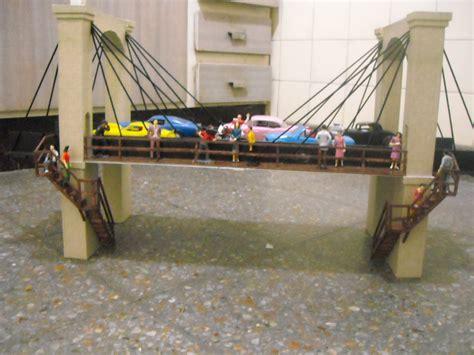 maqueta colgante maquetas y modelismo en escala 1 32 puente colgante maquetas y modelismo en
