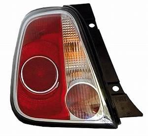 Feu Arriere Fiat 500 : feu arri re gauche fiat 500 phase 1 2007 2015 contour noir neuf rouge blanc ~ Melissatoandfro.com Idées de Décoration