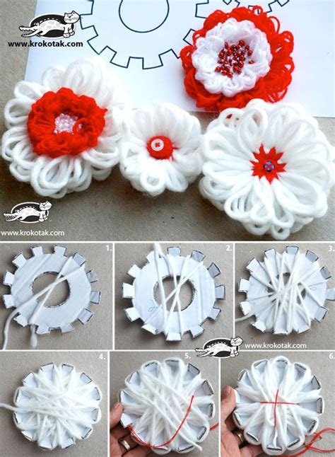 type  loom flower simple craft ideas