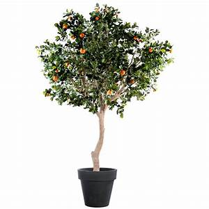 Arbre En Pot : oranger artificiel arbre large 280cm arbres mediterraneens ~ Premium-room.com Idées de Décoration