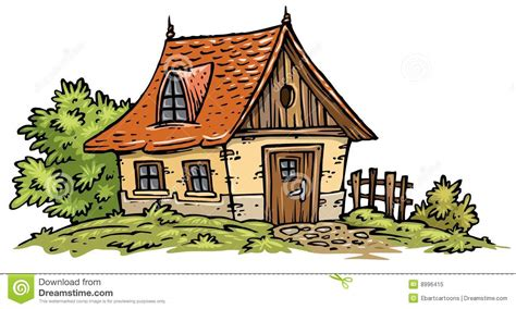 Pencil And In Color Cottage Clipart Witch House