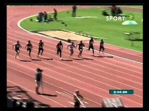 2013 South African Junior Championships - 100m Men Final ...