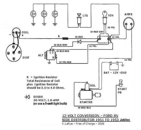 Wiring Diagram Ford Naa Tractor by Diagram Wiring Diagram For Ford Jubilee Tractor