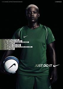 "Nike: ""This Is How I Fight"" Print Ad by Wieden + Kennedy ..."