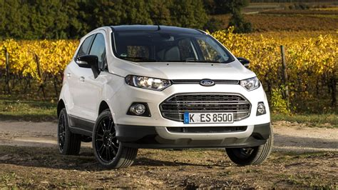 ford ecosport titanium s drive the new less rubbish ford ecosport titanium s top gear