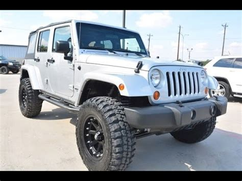 jeep wrangler zubehör 2007 jeep wrangler unlimited lifted