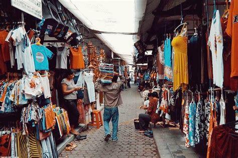 magasin vetement de cuisine marché traditionnel kuta market votre voyage à bali