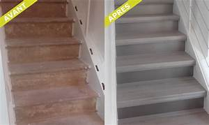 Renovation D Escalier En Bois : r novation d 39 escaliers par marches renov ~ Premium-room.com Idées de Décoration