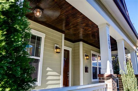 Stained Beadboard Ceiling Porch Wwwlightneasynet