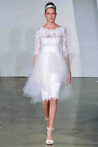 three quarter sleeve wedding dresses fall 2013 martha With 3 quarter length wedding dresses