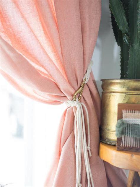 diy curtain tieback ideas  dont  cheap diy