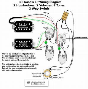 Pickup Les Paul Wiring Diagram