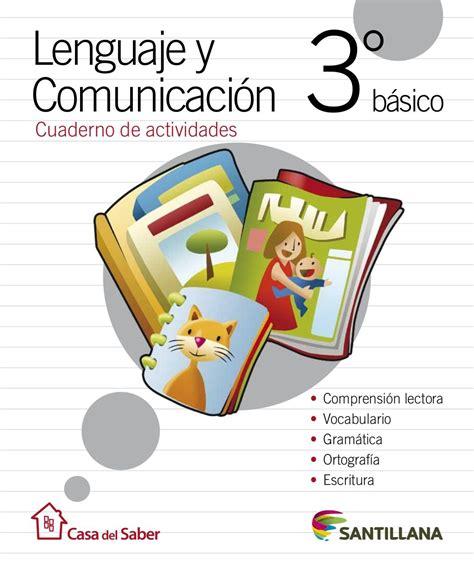 cuaderno de actividades lenguaje  comunicacion basico