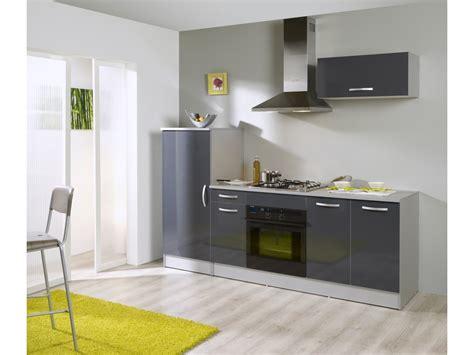 bloc cuisine  cm rumba coloris grissilver vente de