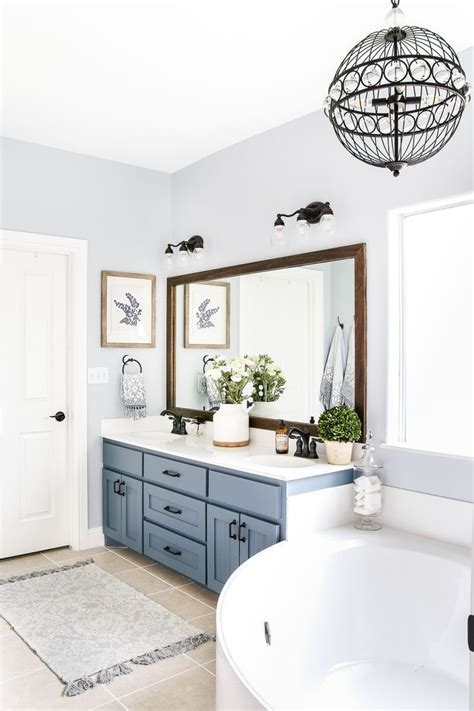 blue bathroom paint ideas  pinterest bathroom