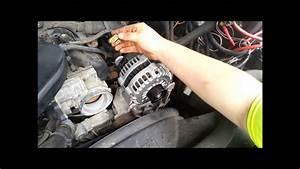 Alternator Replacement Silverado Gm Ls Engine 6 0  5 3  4 8