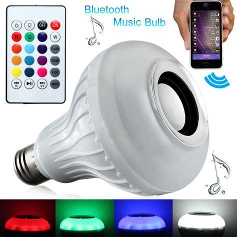 intelligent light wireless bluetooth 3 0 12w e27 led