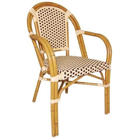 chaise de bar en osier chaises en rotin bar avec accoudoirs gastromastro sas