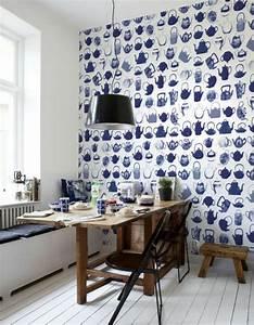 Welche Tapete Für Küche : kreative k chentapeten beispiele f r kreative hausfrauen ~ Markanthonyermac.com Haus und Dekorationen