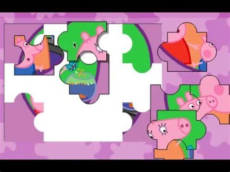 juegos de Peppa Pig puzzle/rompecabezas para niños YouTube