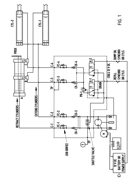 Patent Hydraulic Circuit For Synchronized