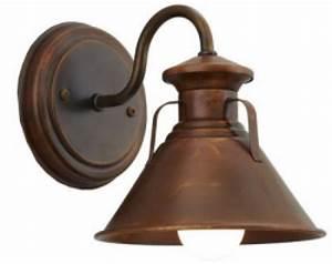 Lighting design ideas copper gooseneck barn lights in arm