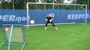 KEEPERsport Rebounder Pro - Goalkeeper Training - YouTube