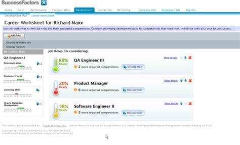successfactors talent suite  core hr  sap